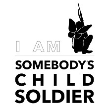 I Am Somebodys Child Soldier Logo